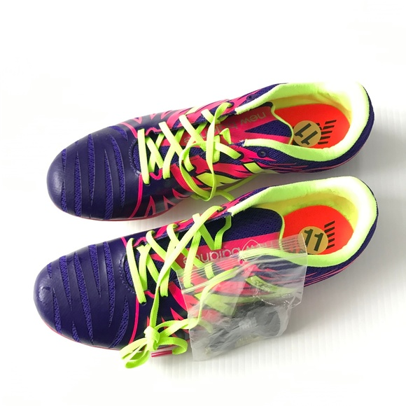 43511224c New Balance Pink Neon SD100 Track Shoes Spikes 11